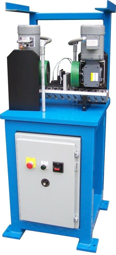 Strut Rod bar drive center section inspection machine