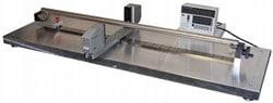Gauge machine to determine straightness of tubes