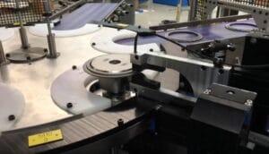 CNC eddy current inspection station for transmission clutch disk