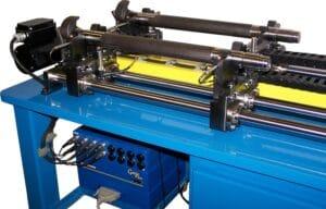 Industrial bench gauging system for a brake camshaft